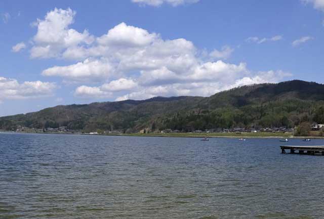 木崎湖のイメージ画像